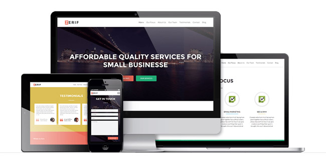 wordpress october 11 10 Free WordPress Themes for October 2014