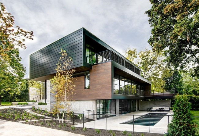 004 modern riverfront residence dspace studio 650x446 Modern Riverfront Residence by dSPACE Studio
