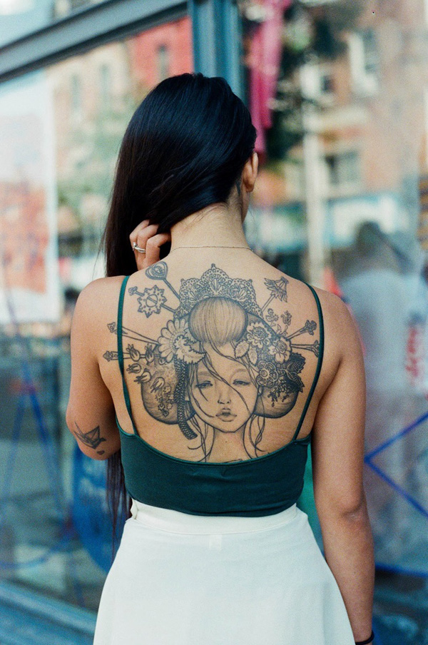 1 geisha tattoo 50+ Beautiful Geisha Tattoos