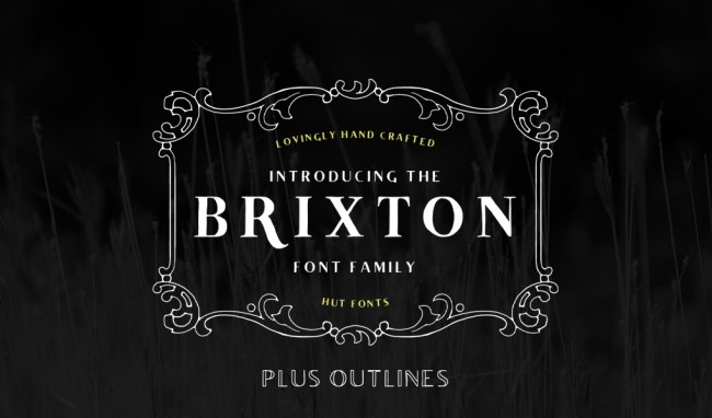 1161 650x382 Introducing our New and Improved Brixton Font Family! (20% Discount Code for Design you Trust)