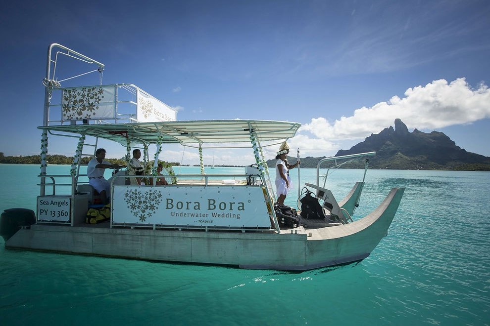 1180 Underwater Wedding in Bora Bora