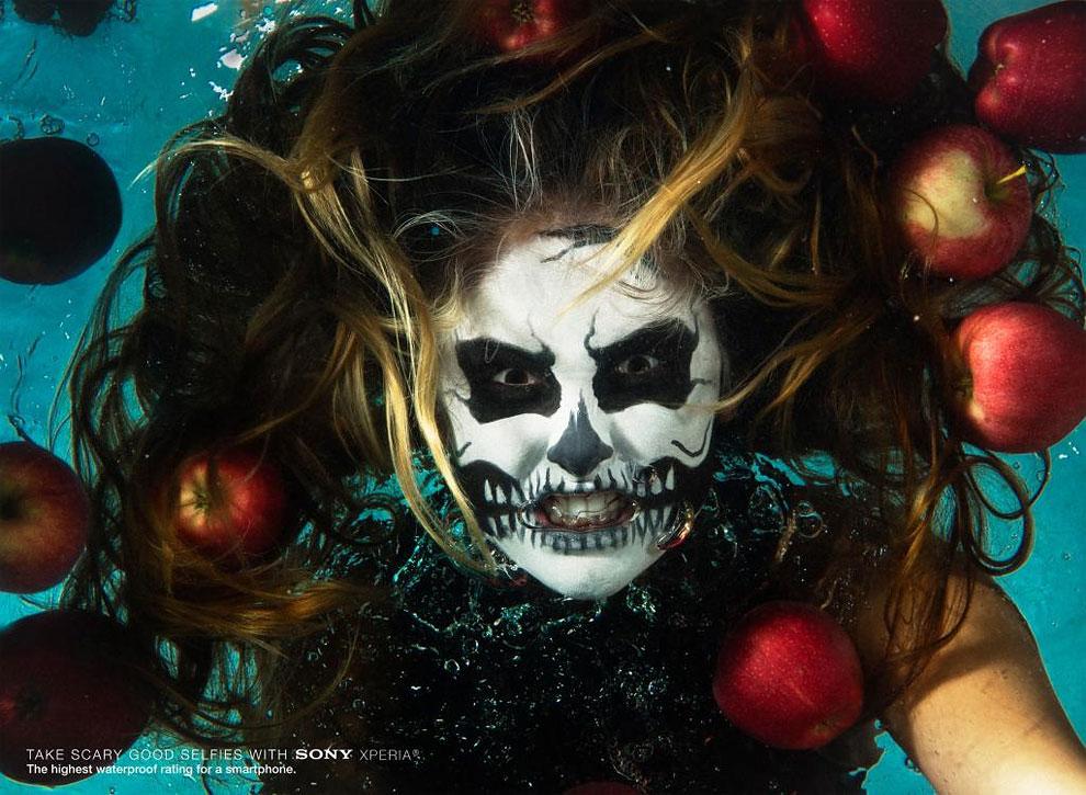 1185 Sony: Underwater Selfies