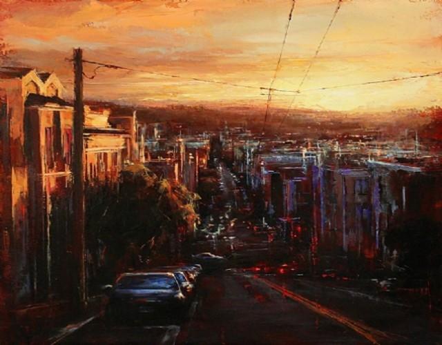 1370410854 1 640x500 Beautiful Urban Landscape Paintings by Lindsey Kustusch