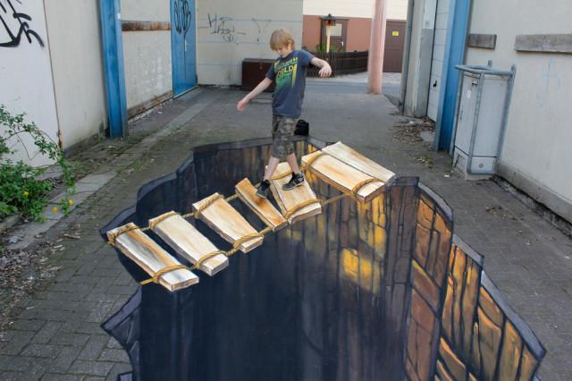 1370669841 1 640x426 Amazing 3D Street Art by Nikolaj Arndt