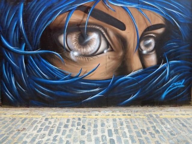 1372271336 1 640x480 Glistening Eyes in Street Art by Eoin