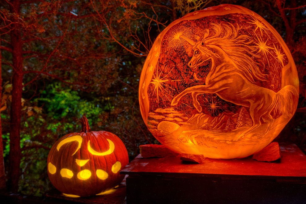 Unicorn Pumpkin Carving 94 Amazing Pumpkin Carvings