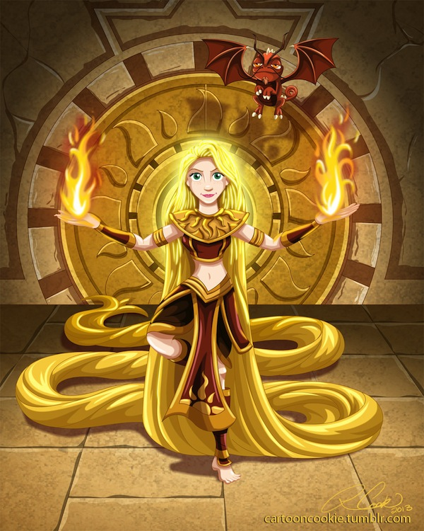 Disney Princess in the World of Avatar by racookie3 05 Disney Princesses in the World of Avatar