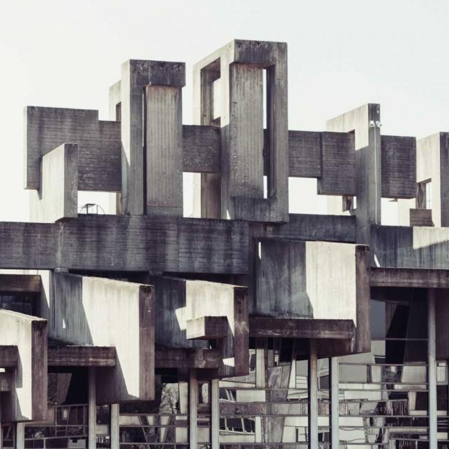 Florian Mueller 650x650 Concrete Cross by Florian Mueller