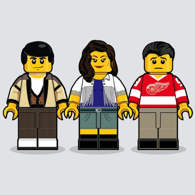 Iconic Movies Remembered in Lego by Dan Shearn 2014 01 650x650 80s Lego   Iconic Movies Remembered In Lego Minifigures by Dan Shearn