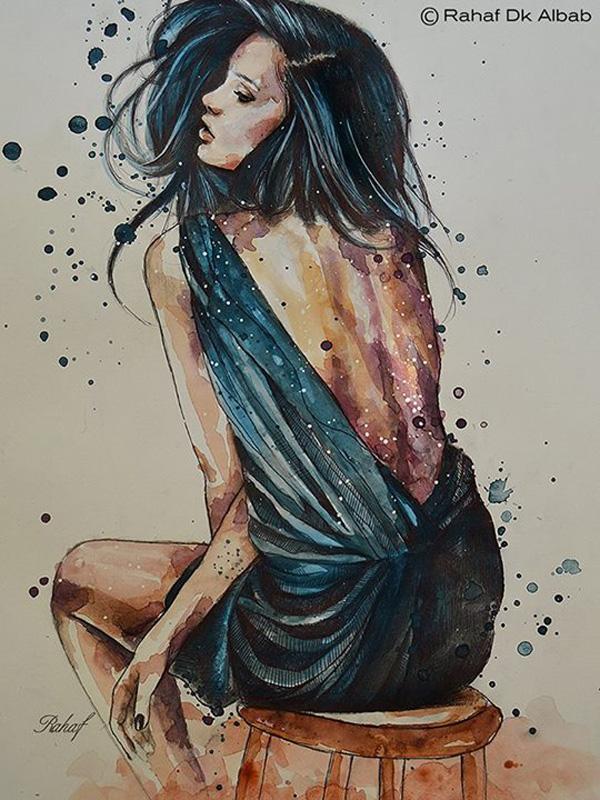 Rahaf Dk Albab 2 Illustrations by Rahaf Dk Albab
