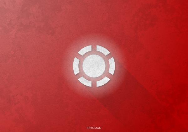 Superhero Logos by Rami Hoballah Iron Man Shadow Superhero Logos
