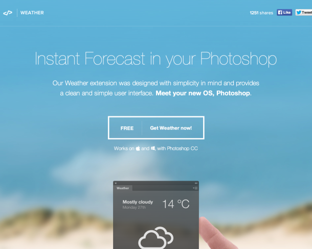 Weather 25 Mouth Watering Website Designs