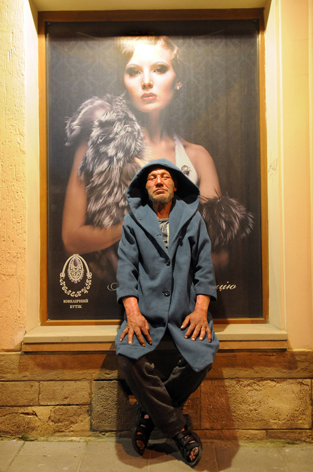 fashionable hobo dyachyshyn 01 Slavik's Fashion: The Most Stylish Hobo in The Ukraine