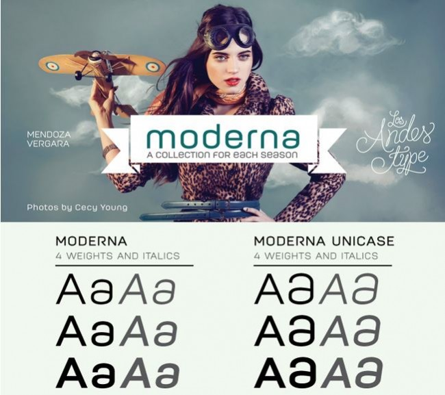 md3 650x577 Get MODERNA: A Beautiful Sans Serif with 16 weights   only $14!