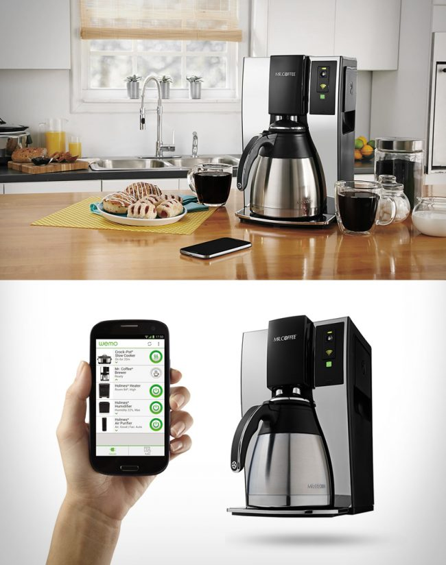 mr coffee smart coffee maker large 650x824 Mr Coffee | Smart Coffee Maker