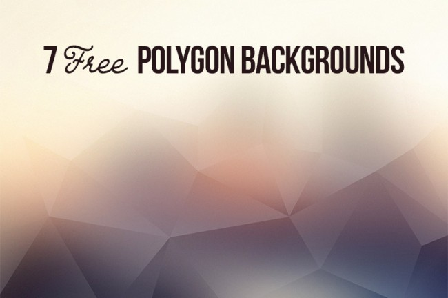 p01 650x432 7 Free Polygon Backgrounds