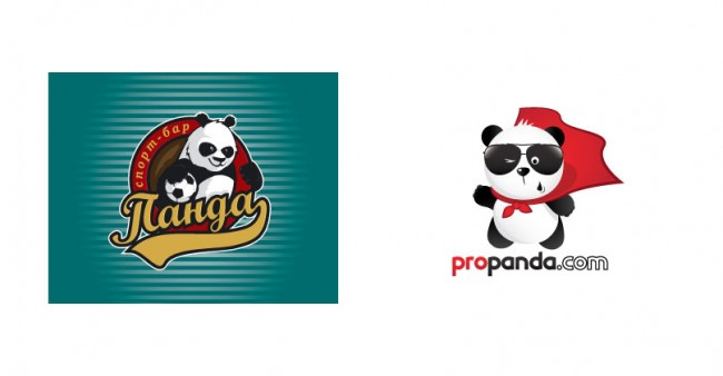 panda 01 650x338 20 Funny Panda Logo for Inspiration
