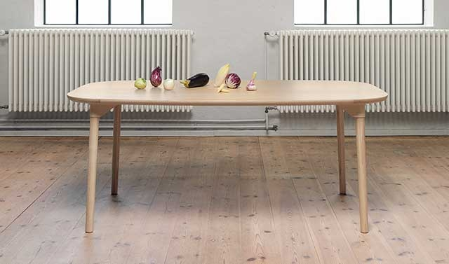 sam lightweight dining table Brand New Dining Table Designed by Andreas Engesvik and Stefan Borselius