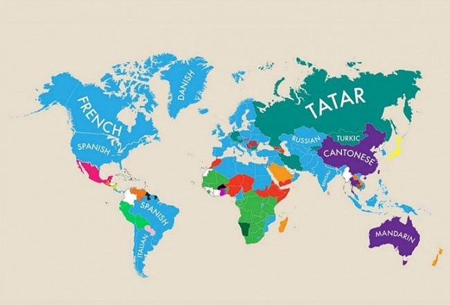 second language everythingwithatwist 09 650x440 Most Popular Second Language: World