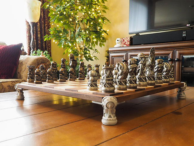 Throne of Kings The Art of War Chess