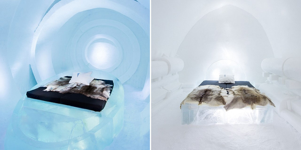 The Ice Hotel Opens Its Doors To Reveal This Year's Breathtaking Hand-Carved Suites