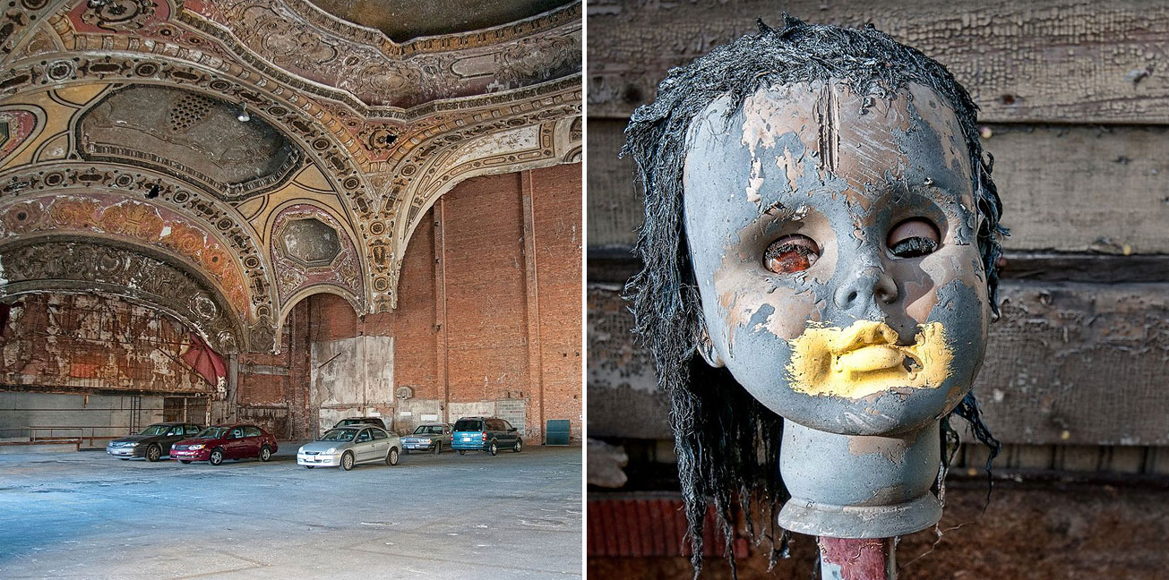 20 Beautiful Photographs Of Urban Decay In Detroit S Crumbling Ghost Neighbourhoods