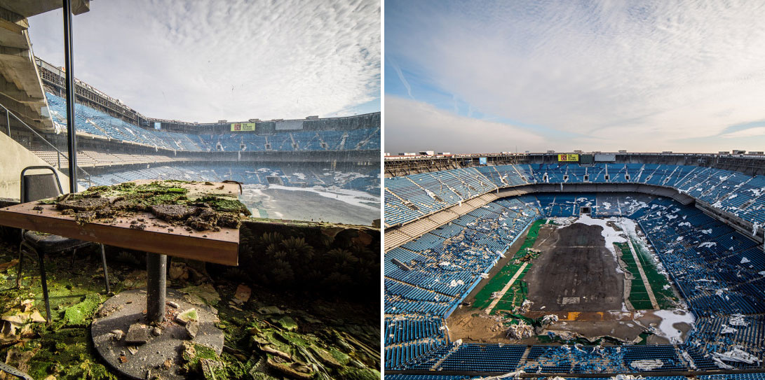 What The Abandoned Silverdome Looks Like 13 Years After The Detroit Lions Left