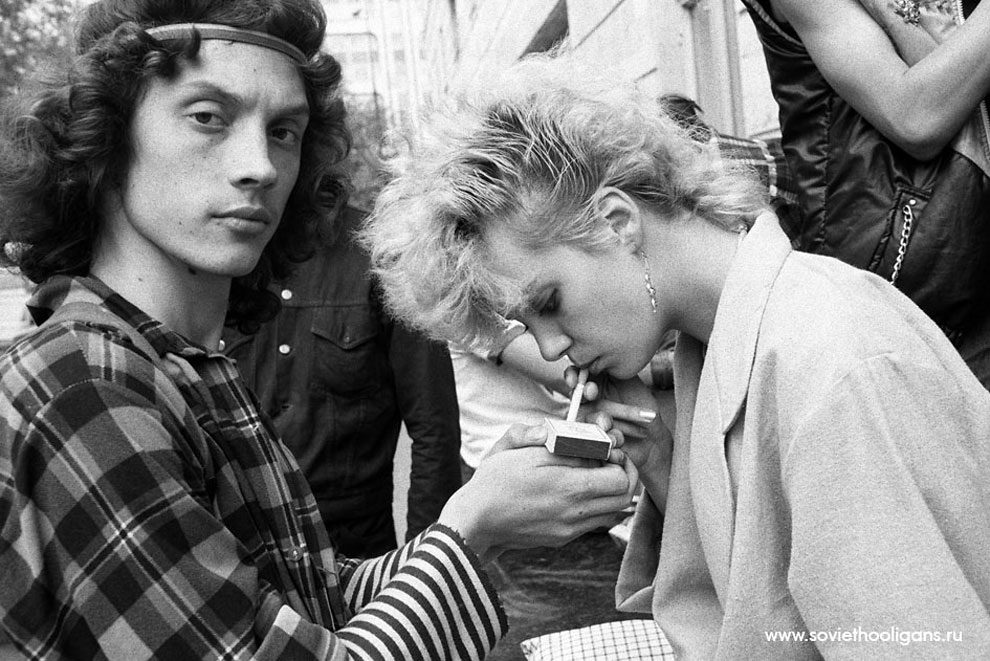 Soviet Youth Culture Goths Punks And Metalheads Of The
