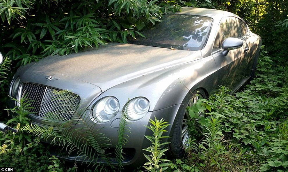 Inside China\'s Trash Park Where Bentleys And Mercedes Worths ...