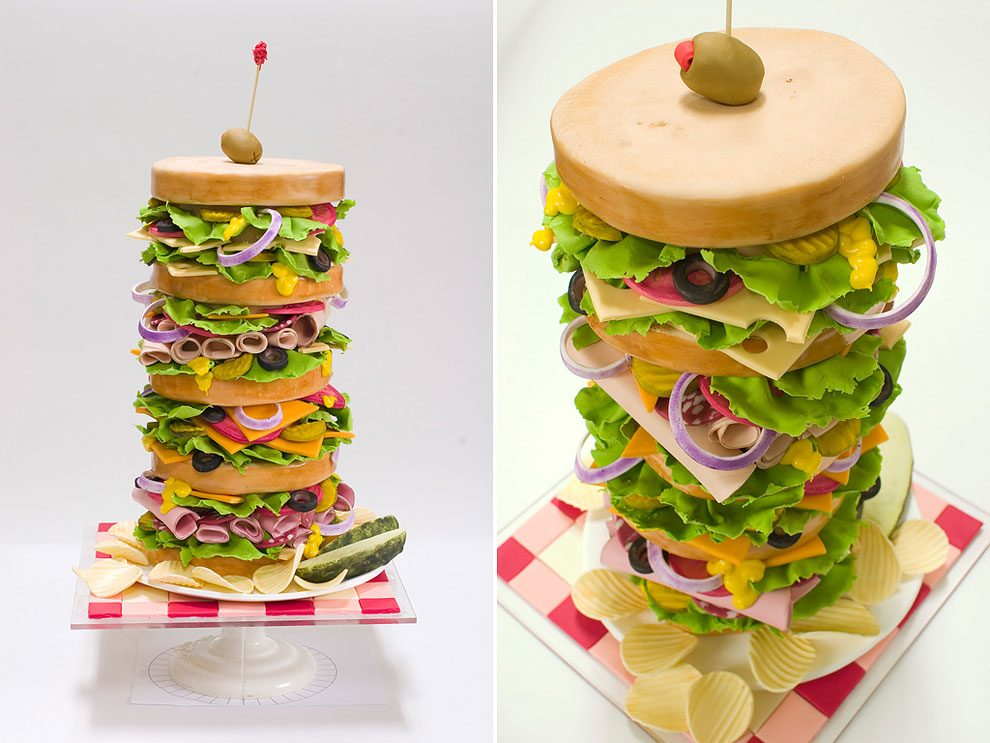 hyper realistic cakes by former nasa engineer design you trust