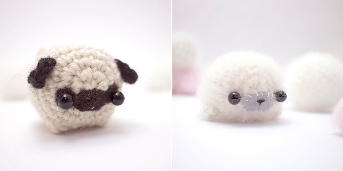 Tiny Miniature Crochet Animals By Mohustore » Design You Trust