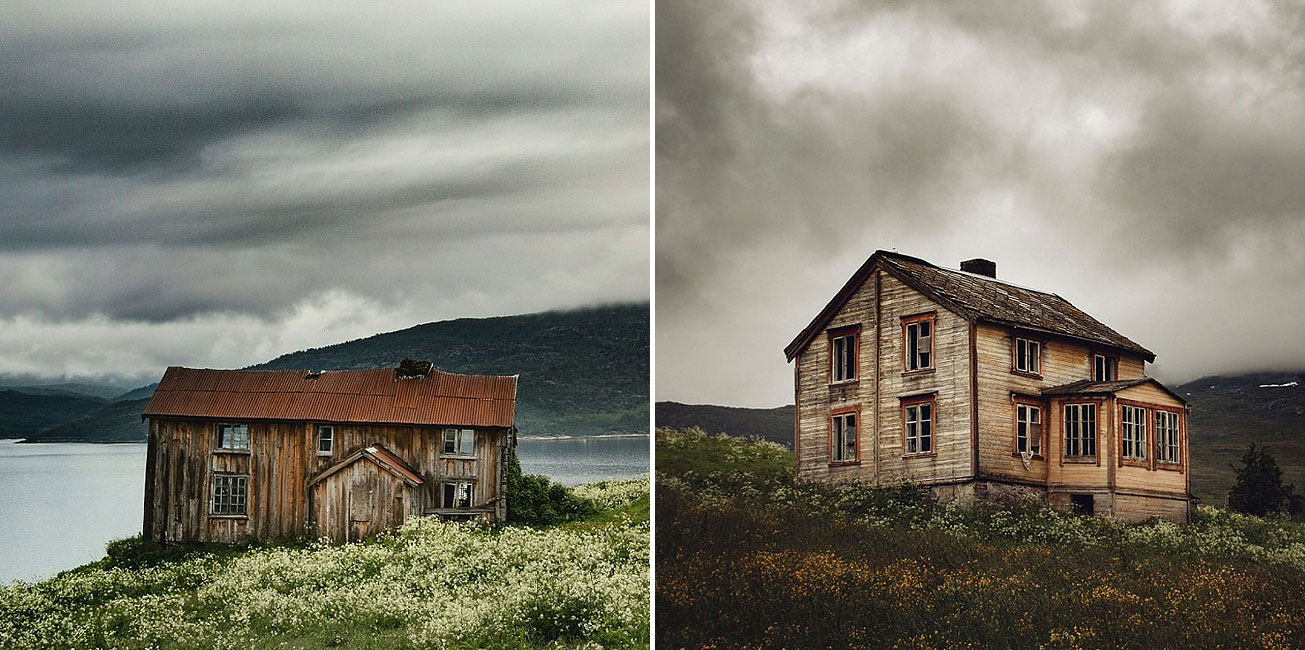 The Abandoned Houses Left Behind In The Pristine Landscape Of Scandinavia
