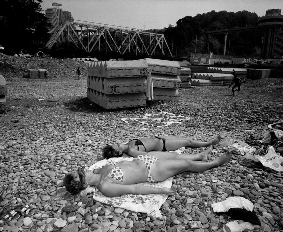 RUSSIA. Sochi. Russian riviera. 1988.