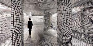 Mindblowing Optical Illusion Rooms By Peter Kogler Will Give You Vertigo