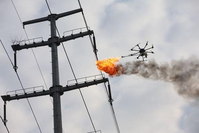 on high voltage wiring