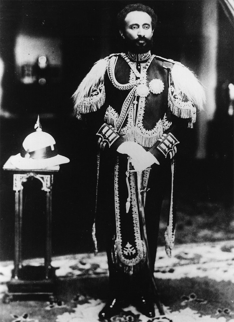 Stunning Photos Of Haile Selassie I, The Emperor Of ...
