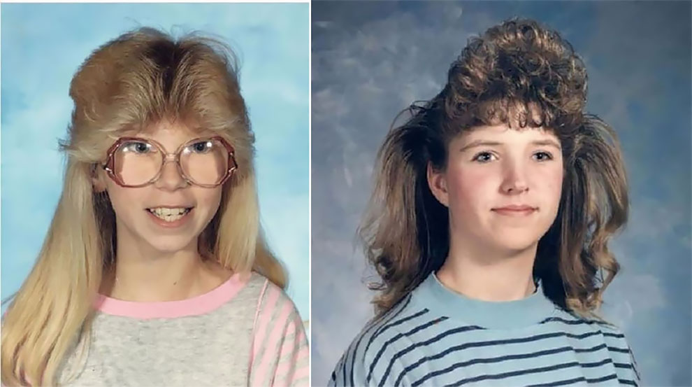 Hilarious Childhood Hairstyles From The 1980s And Early ... Рок Стрижки
