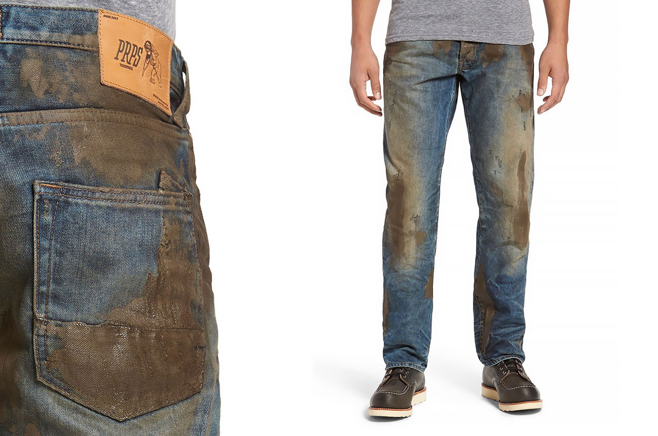 9856ffb992 Nordstrom Is Selling Jeans Caked In Fake Dirt For Hundreds Of Dollars