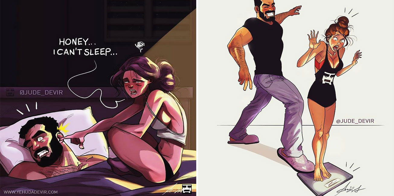AnArtist Illustrates the Lives ofModern People and His Work IsFilled With Sarcasm and Irony