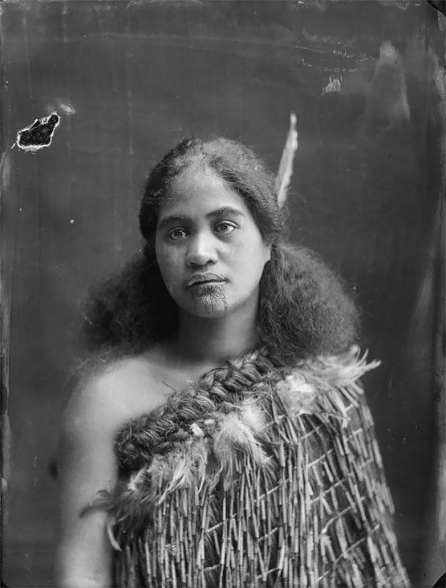 Women S Maori Moko Chin Body Temporary Tattoos: Incredible Portraits Of Maori Women With Their Tradition