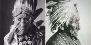Portrait Photos Of White Wolf AKA Chief John Smith, The Oldest Native American To Have Ever Lived
