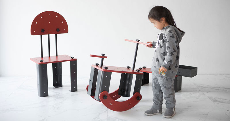 Lovely TONITURE Lets Kids Build Their Own Fun Furniture Designs U2013 Design You Trust Nice Ideas