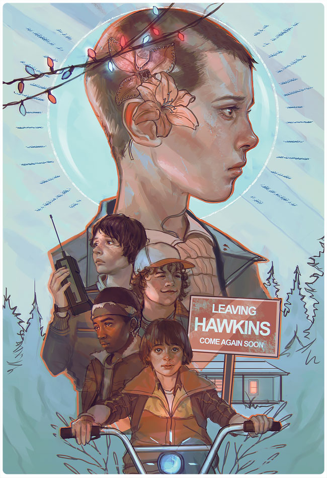 Awesome Fan Art Pieces For Netflix's Stranger Things ...