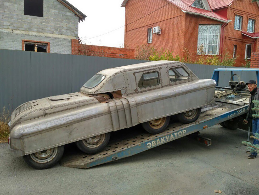 Soviet Mystery Amphibious Vehicle Has Been Discovered In Chelyabinsk ...