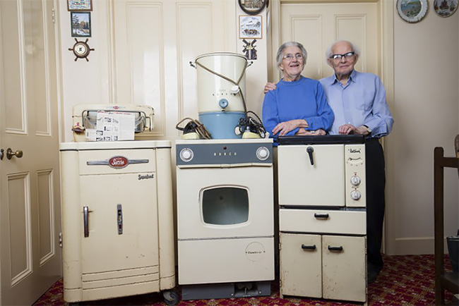 This Elderly Couple Bought Their Household Appliances In 1950s, 50 Years  Later They Still Work! U2013 Design You Trust