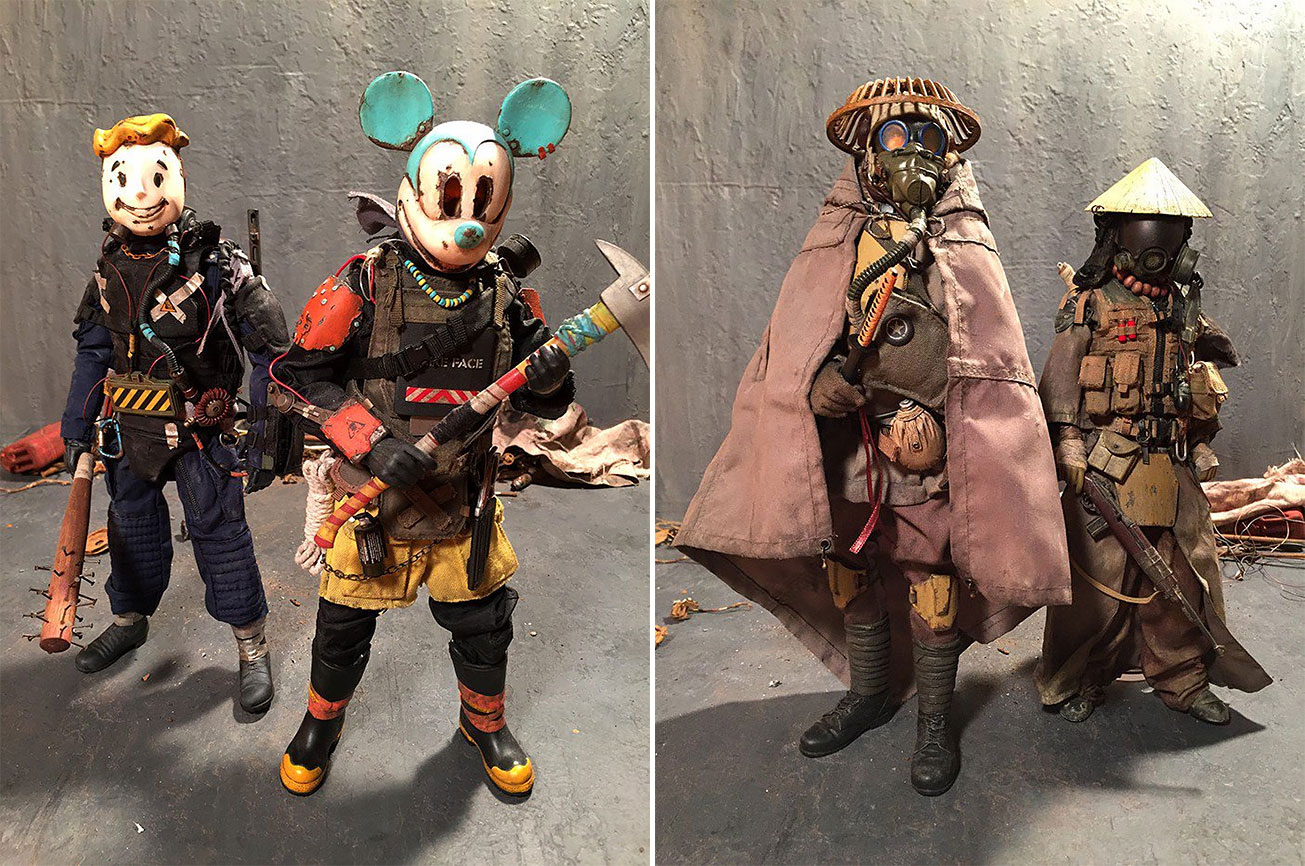 This Japanese Artist Turns Childhood Toys Into Amazing Post ...