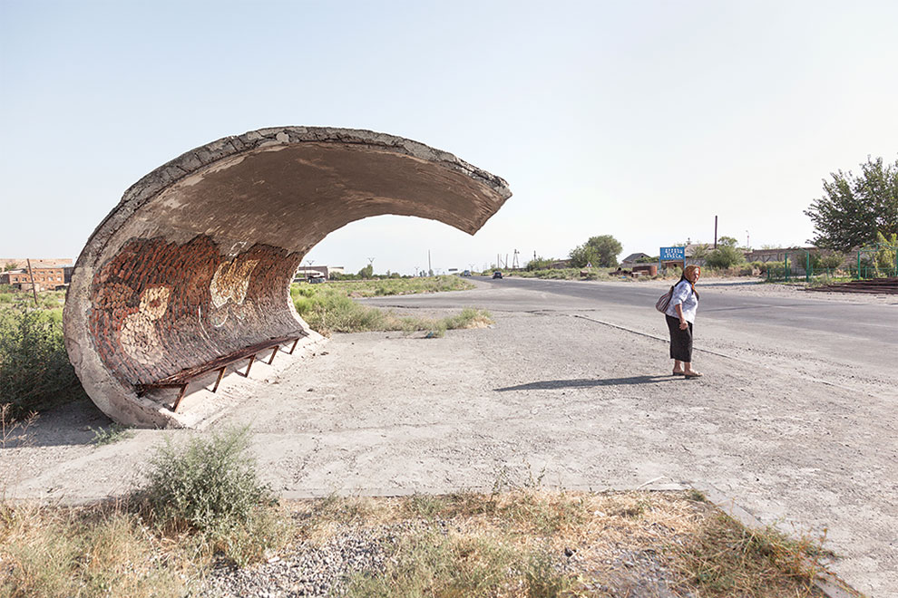 Photographer Christopher Herwig Hails The Brutal Charm Of The Soviet Bus Stop