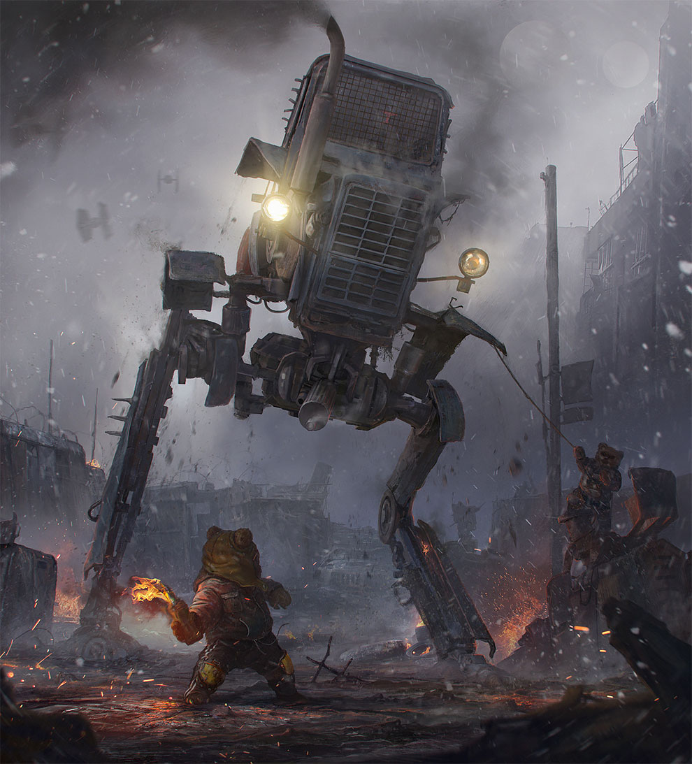 """Post-Apocalypse Now"": Superb Concept Art By Sergey Vasnev"