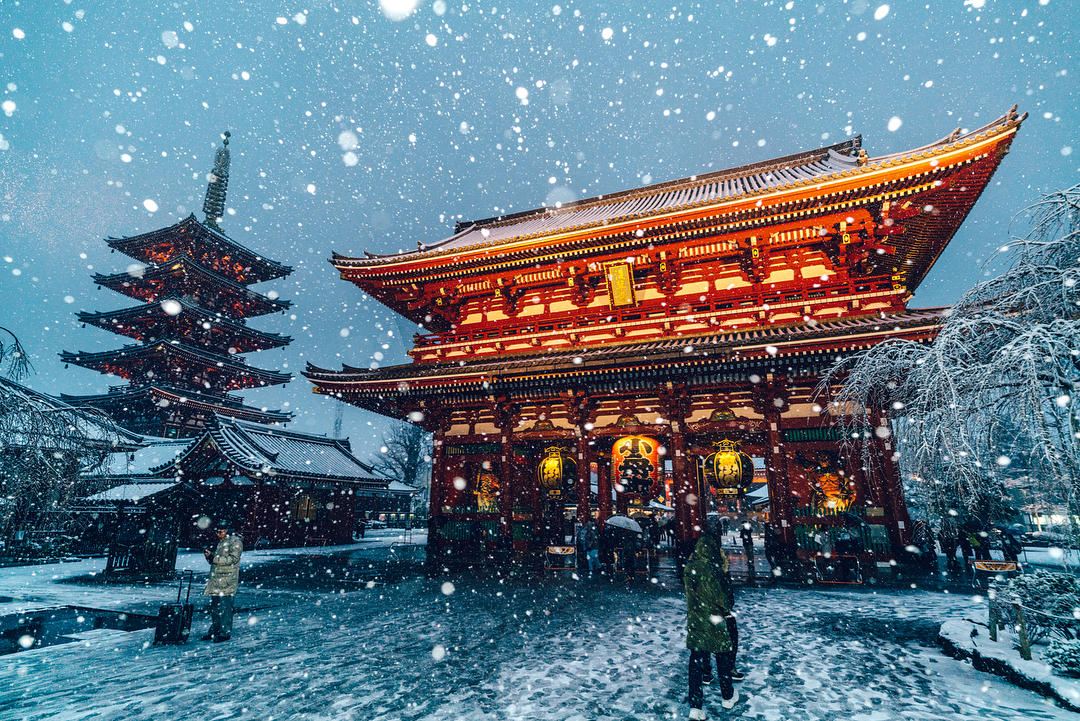 Japanese Photographer Yuichi Yokota Captured Beautiful Photos Of Tokyo Covered By Heavy Snow