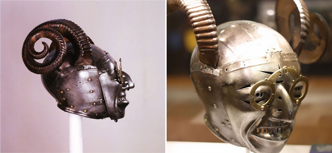 The Bizarre Looking Of Henry VIII's Horned Helmet, c.1511-1514